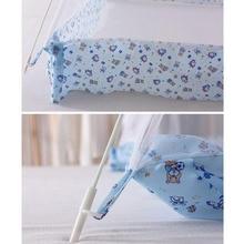 Folding Mosquito Netting Baby Crib Tent Cradle Bed Canopy Infant Tent Mosquito Net Mosquiteiros Infantis Size S/L