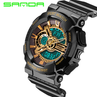 2016 New Fashion Quartz Watch Men Luxury Men Watches Waterproof Sport G Style S Shock Men