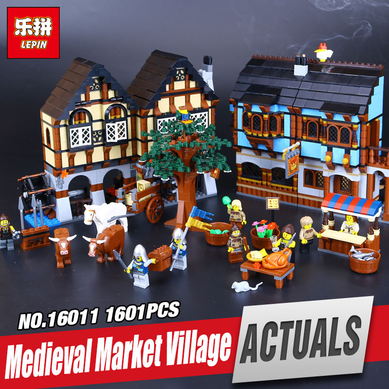 DHL Lepin 16011 Castle Series The Medieval Manor Castle Set legoing 10193 Educational Building Blocks Bricks Model Toys as Gift lepin 02020 965pcs city series the new police station set children educational building blocks bricks toys model for gift 60141