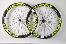 SuperTeam 700C дорожный велосипед Колесная 50 клинкерное колесо 25 мм ширина