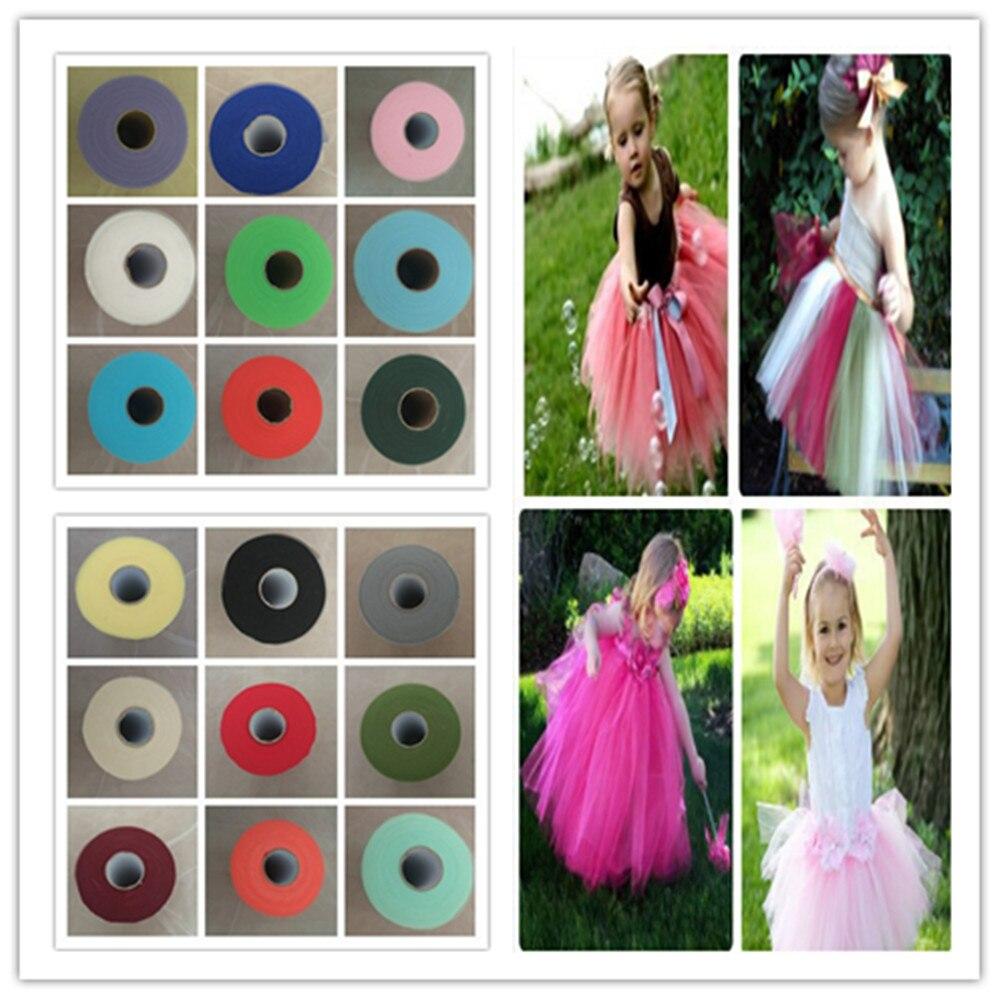 "25m 10m 5m - Kids Tutu Wedding Fabric Netting LIGHT PINK TULLE 6"" Wide"