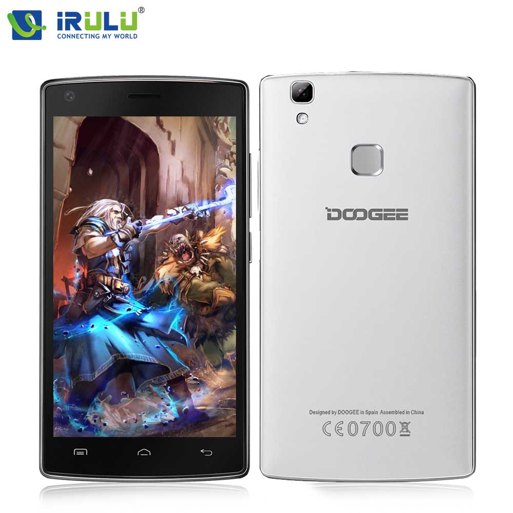 Original Doogee X5 max Smartphone Fingerprint Unlock 4000mAh Battery 5.0inch HD Display Quad Core Google Paly 8G