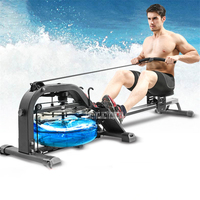 Water Resistance Rowing Machine Aerobic Exercise Home GYM Mute Body Glider Abdominal Pectoral Arm Training Fitness Equipment