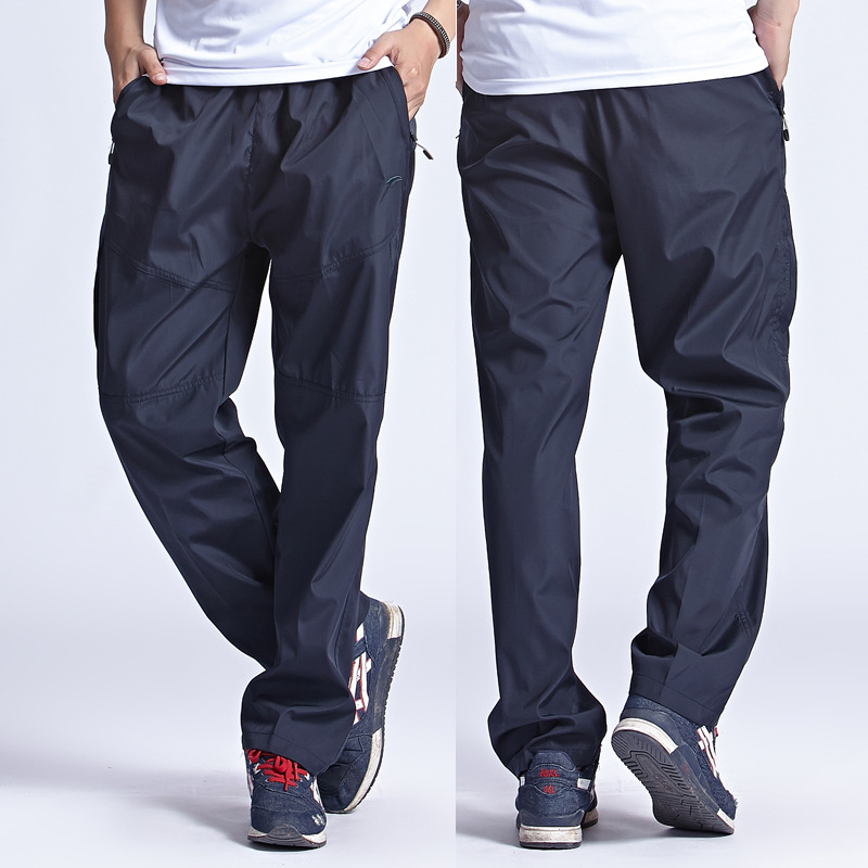 Grandwish 2017 New Outside Mens Exercise Pants Quickly Dry Mens Active Pants Men Physical Trousers Plus Size 3XL, PA094