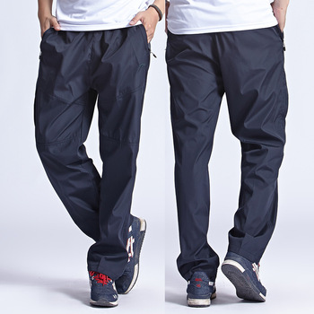 Grandwish  New Outside Mens Exercise Pants Quickly Dry Mens Active Pants Men Physical Trousers Plus Size 3XL, PA094 Casual Pants