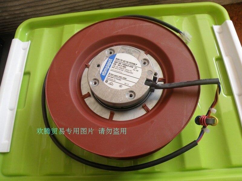 Original EBM PAPST RER175-42/18/19TDMLP 48vDC 1350mA 65W vortex blower cooling fan ebm papst drives for parker variable frequency r2e190 af58 13 blower la466711u002