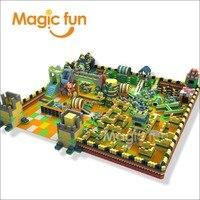 MAGIC FUN 2018 hot sale building blocks for kids soft indoor playground building blocks children playground