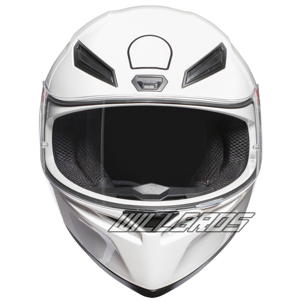 Anti brouillard hommes et femmes K1 casque intégral MOTO de rue MOTO GP Racer Pro grand Motocross casque de course blanc