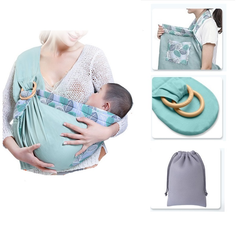 Baby Carrier Sling For Newborns Soft Infant Wrap Breathable Wrap Multi Functional Breastfeed Birth Comfortable Nursing Cover