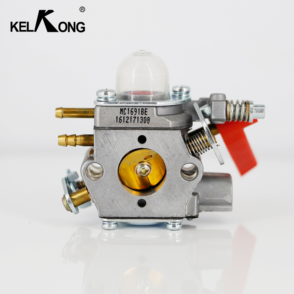 KELKONG OEM Carburetor C1U-H60 30CC Homelite Ryobi 308054013 308054012 308054022 308054025 Tool With Red Handle kelkong 5 carburetor primer bulbs fuel pump oem for chainsaws blowers trimmer homelite echo ryobi poulan parts