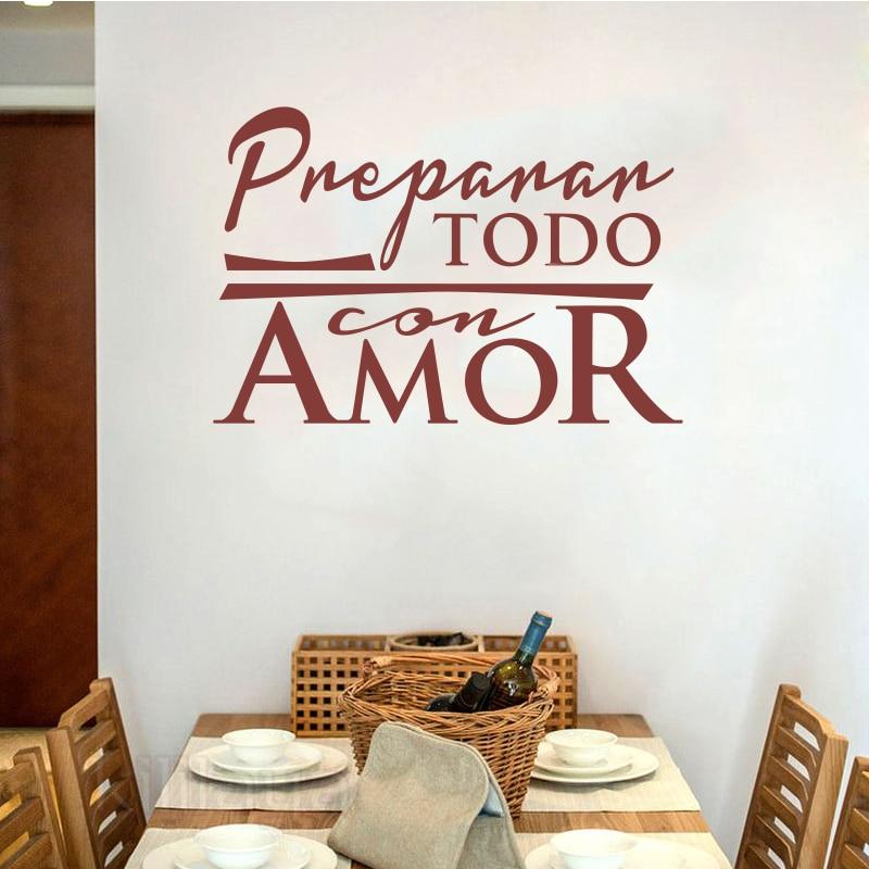 Αυτοκόλλητα Κουζίνα Ισπανικά - Διακόσμηση σπιτιού - Φωτογραφία 1