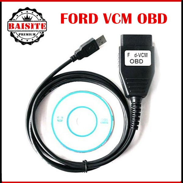 Prix pour 2016 Qualité A + + + Pour F-ord VCM OBD Interface De Diagnostic Câble Pour F-ord/M-azda VCM IDS Outil D'analyse Bonne Fonction Meilleur Prix