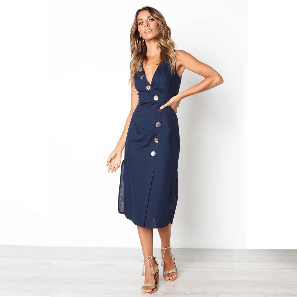e5b746d9359 ... Plus size Dresses Women Elegant Bodycon Office Dress Vintage Dress  Summer Ladies V Neck Casual Sexy ...