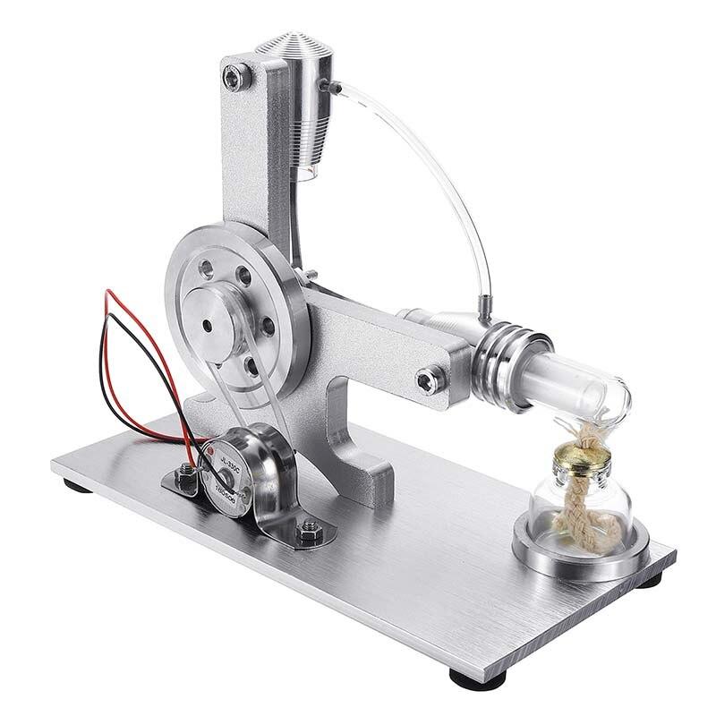 LBLA Micro l-style Air chaud Stirling moteur modèle éducatif vapeur puissance jouet électricité apprentissage modèle jouets pour enfants