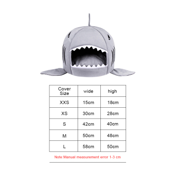 Shark Shaped House for Cats 2