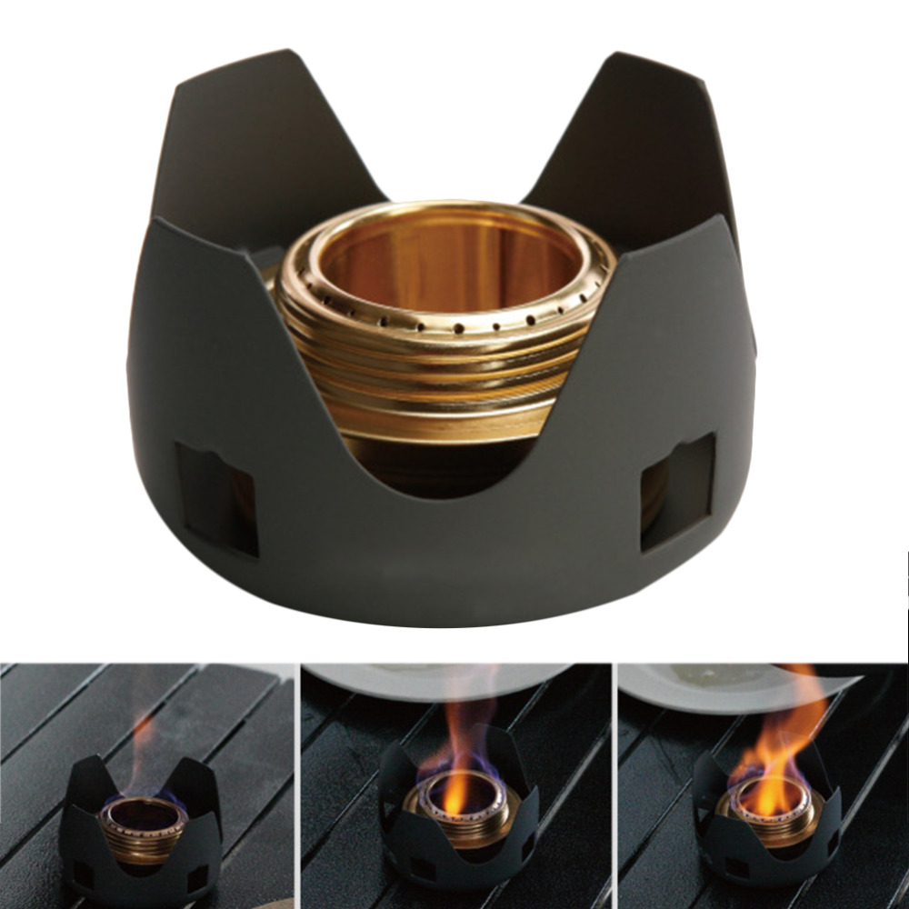 ФОТО HW2016 NEW arrival  Alcohol outdoor portable windproof camping field alcohol stove furnace cookware gas cookout picnic cooker