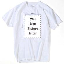Camiseta personalizada impresión de la insignia personalizada camiseta  mujeres y hombres mujer imprimir su propio diseño de alta. b99f570208217