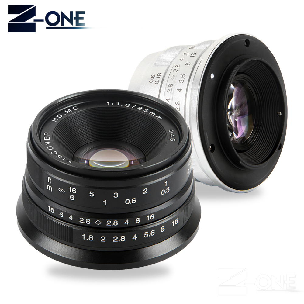 Black/Sliver 25mm F/1.8 HD MC Manual Focus Lens for Olympus Panasonic M4/3 Camera GX7 GX8 GH4 GH3 OM-D E-M5 E-M1 E-M10 E-PL7 black sliver 25mm f 1 8 hd mc manual focus lens for olympus panasonic m4 3 camera gx7 gx8 gh4 gh3 om d e m5 e m1 e m10 e pl7