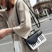 Women Cute Piano Pattern Shoulder Bag (3 colors)