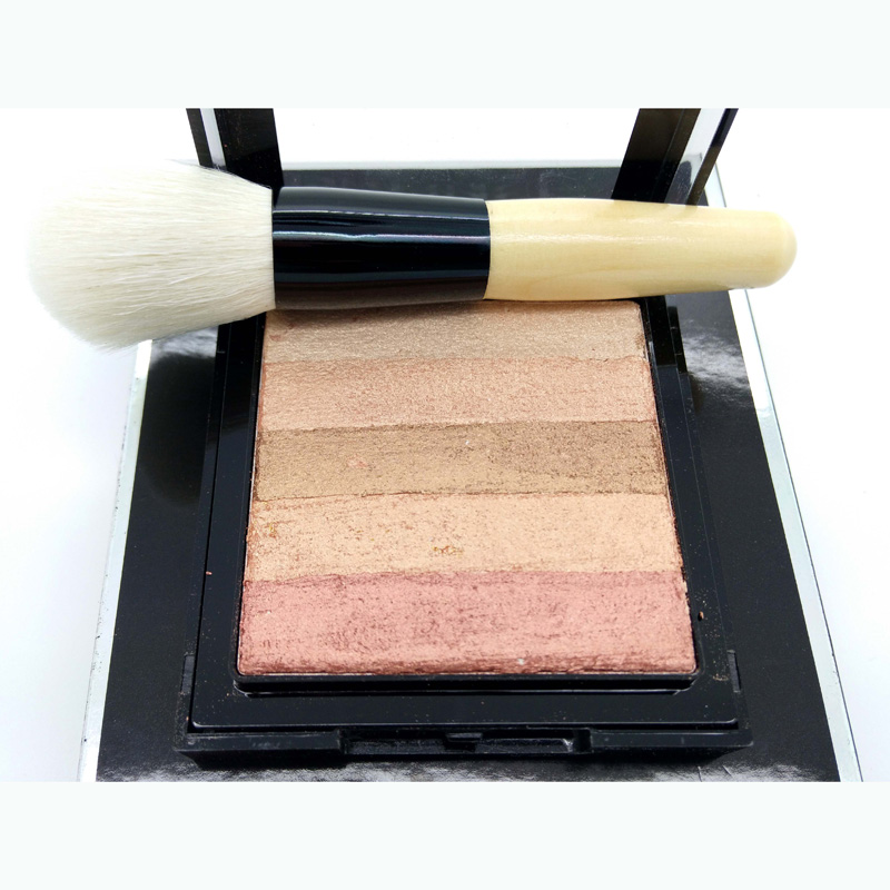 Bronzer Powder Blush and Highlighter Makeup Party Queen Pro Eye shadow Palette set Tanning Powder #01 5