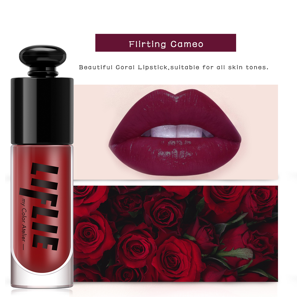 PF79 6 Colors Lip Gloss Makeup Lip Stain Long Lasting Moisturizer Lip Tint Lipgloss Full Professional Makeup in Lip Gloss from Beauty Health