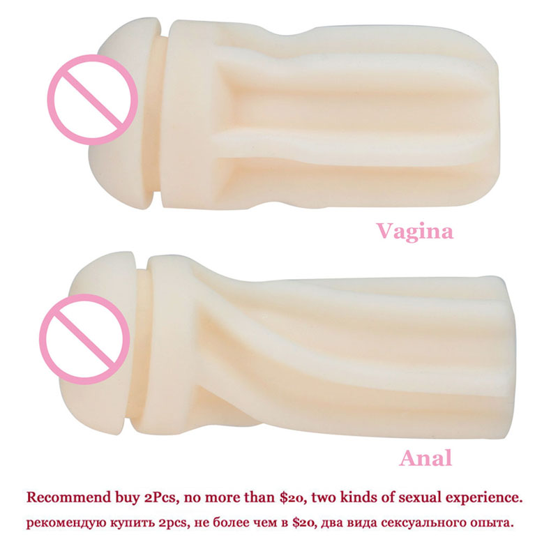Male Masturbator Sex toys for adults Silicone Vagina Real Pussy And Anal Pussy Masturbation Cup Anus Sex Product for Man