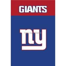 Blue Red New York Giants Flag Banners Football Team Flags 3x5 Ft Super Bowl  World Champions Banner Decoration 100D Custom 7212196e6