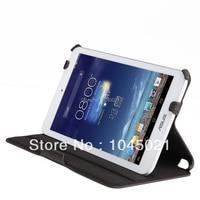 2016 tablet case voor asus memo pad 8 me180a cover skin, vouwen stand leather case voor asus memo pad 8 cover 1 stks gratis Posatge