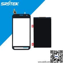 Für samsung sm-g388f galaxy xcover 3 touch screen digitizer + lcd display ersatz kostenloser versand