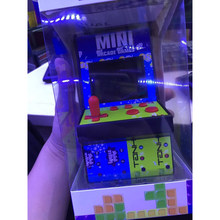 Children gift Portable Handheld Gaming gmme Console Mini Table Top Acrylic Cabinet 200 in 1 Jamma Game Arcade(China)