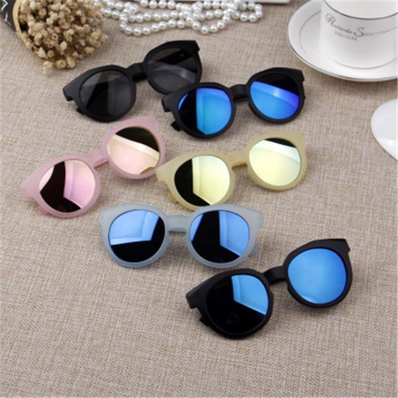Ywjanp 2018 Fashion Brand Kids Sunglasses Black Children's sunglasses Anti-uv Baby Sun-shading Eyeglasses Girl Boy glasses UV400(China)