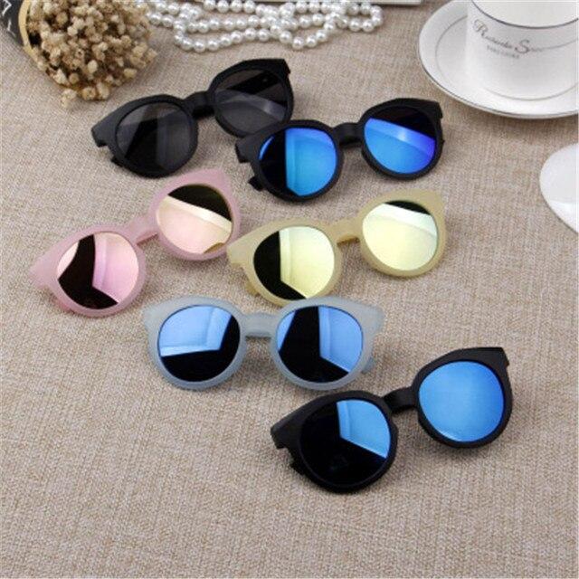 89ee1e986 Ywjanp 2018 Fashion Brand Kids Sunglasses Black Children's sunglasses Anti- uv Baby Sun-shading Eyeglasses Girl Boy glasses UV400