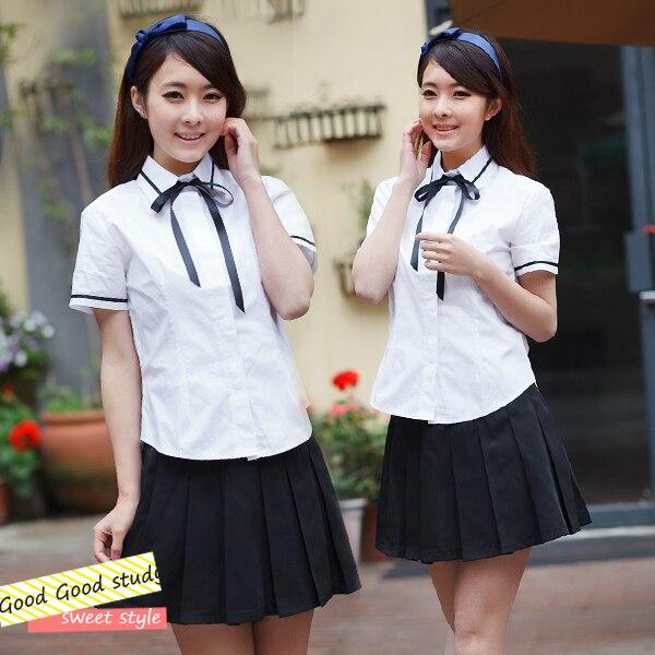 Бесплатная доставка япония и южная корея девушки школьная форма студенты  носят униформу ресторана гостиничного униформы персонала 62c7fe27d8e