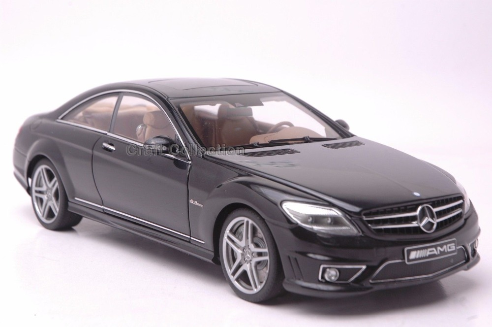 * Autoart 1:18 Car Model Benz CL63 AMG Coupe (Black) Diecast Model Car Luxury Gifts Rare Miniature Hot Selling