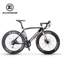 EUROBIKE Road Bikes Aluminum Frame Shimano 16 Speed 700C Inches Wheel
