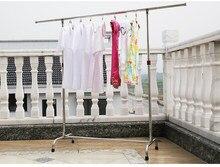Однополюсный тип нержавеющей стали сушилки для белья убирающимся шасси внутри и снаружи спальня балкон сушилка для белья