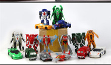 11cm Mini Classic Transformation Plastic Robot Cars Action Toy Figures