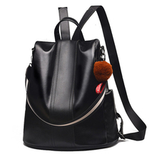 Hot Sale Backpacks women casual school backpack for teenage girls vintage PU leather bags
