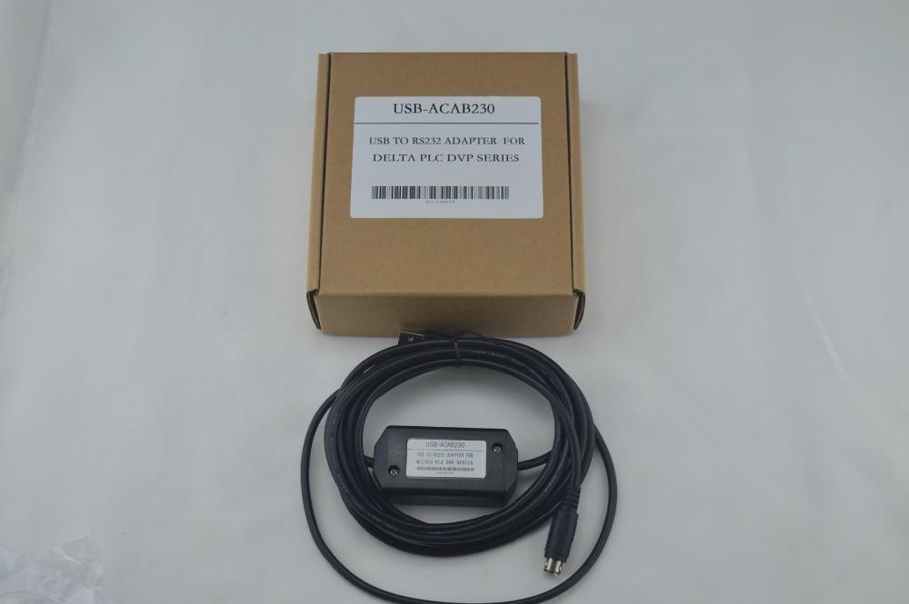 USBACAB230 (USB ACAB230):USB DVP USB PLC programming cable for Delta DVP series PLC