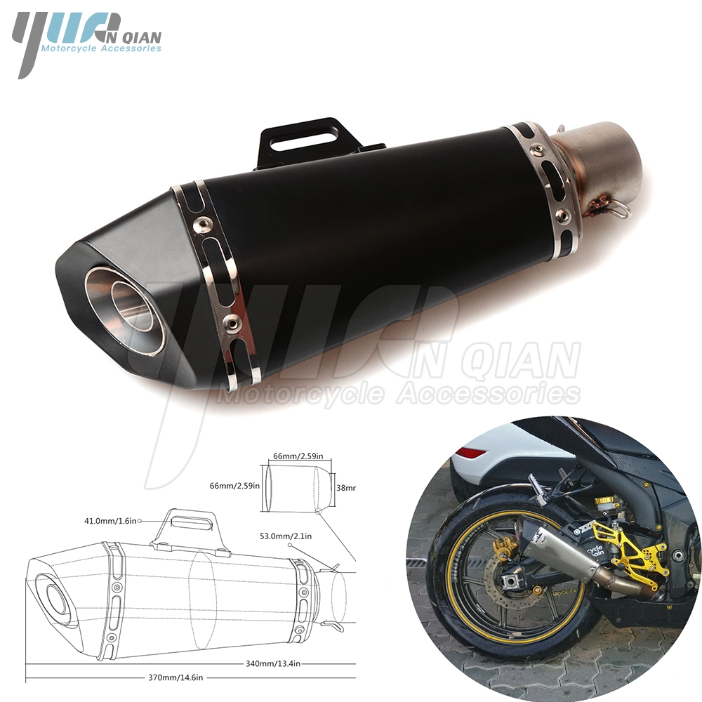 Motor Scooter exhaust Modified Exhaust Muffler Pipe For Yamaha R1 R3 R6 R125 FZ6 FZ1 FAZER XV 950 MT07 MT09 MT 03 TMAX XMAX VMAX sitemap 66 xml