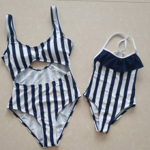hot deal buy family bikini mother daughter swimsuit mommy and me swimwear bikini matching outfits clothes look mom mum baby dresses clothing