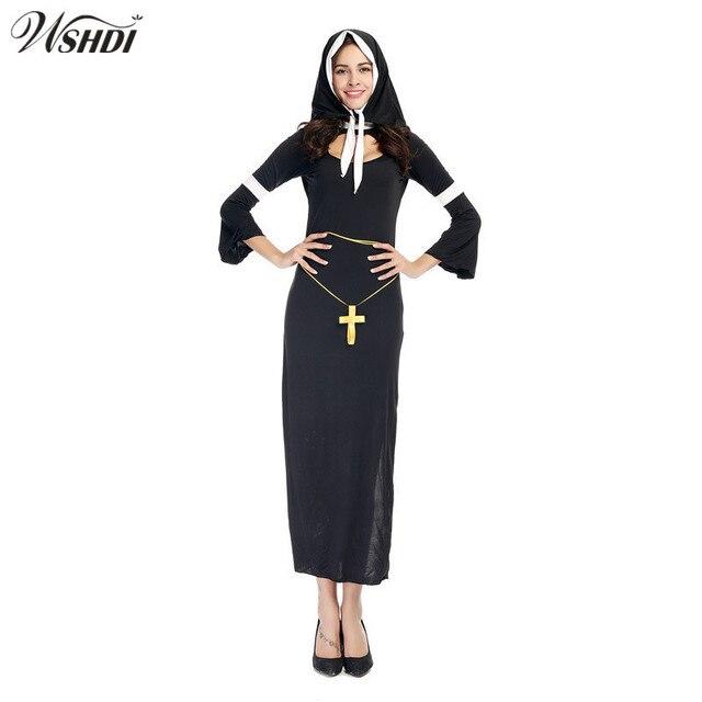Extrêmement Adulte Halloween Carnaval Costumes La Vierge Marie Costume Cosplay  PY72