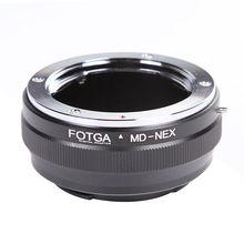 FOTGA Minolta MD NEX anneau adaptateur dobjectif pour Sony e mount NEX 7 6 A7 A7R II A6500 A6300