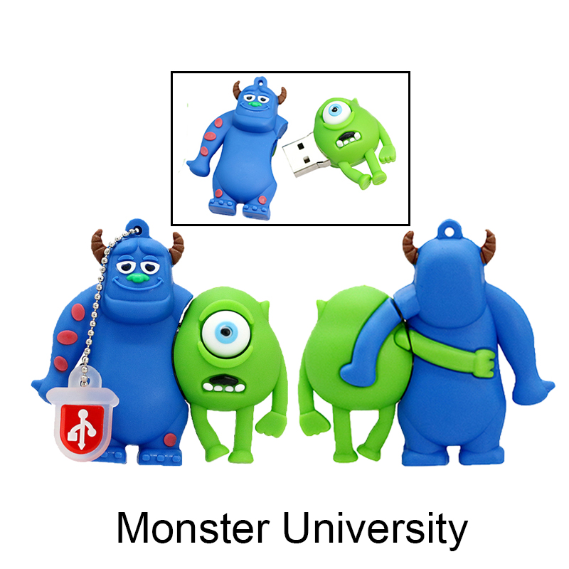 Monsters University Mike/James USB Flash Drive lovely cartoon pendrive 4GB/8GB/16GB special gift memory stick usb disk