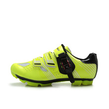 TIEBAO Professional Bicycle Cycling Shoes MTB Mountain Bike Self-Locking Shoes Men Women Nylon-fibreglass Sole Athletic Shoes