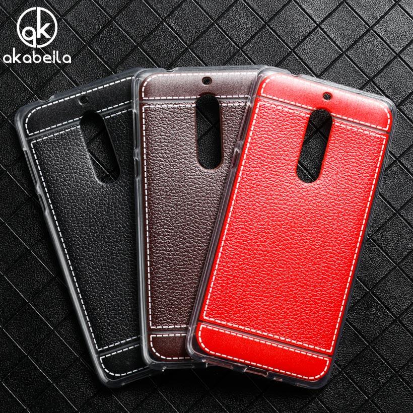 AKABEILA <font><b>Phone</b></font> <font><b>Cases</b></font> For <font><b>NOKIA</b></font> 5 <font><b>Nokia</b></font> heart 5.2 inch Nokia5 Litchi Silicone Soft TPU <font><b>Phone</b></font> Cover <font><b>Case</b></font> Housing Hood