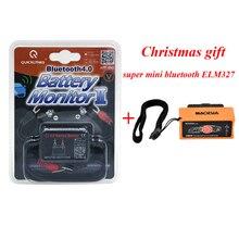 QUICKLYNKS Bluetooth 4.0 Monitor de La Batería II BM2 para Coche 12 V Batería Tester Analizador Digital Accesorios de Monitoreo En Tiempo Real