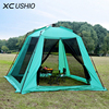 Quality 5 8 Person Large Space Automatic Tent Summer Outdoor Camping Family Party Garden Gazebo Pavilion