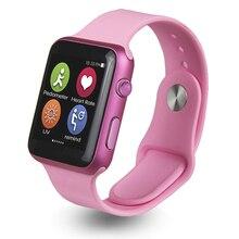 Smart watch iwo hohe auflösung bluetooth smartwatch mit pulsmesser facebook whatsapp eingebautes für ios android-handy