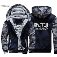 Hoodie Mens Hooded Sweatshirt Coat 2018 Winter Warm Fleece Thick High Quality Jacket